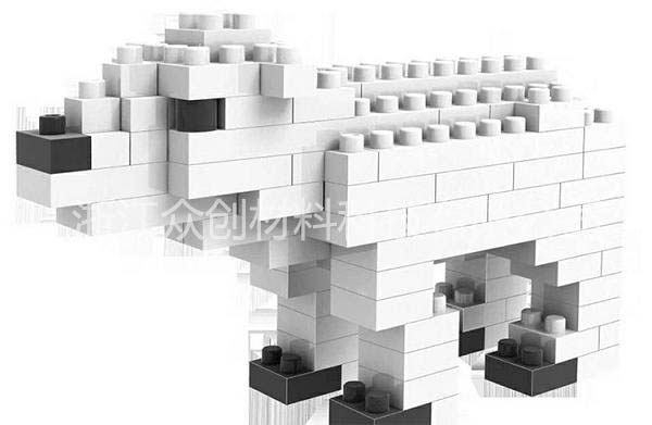 epp白色狮子玩具