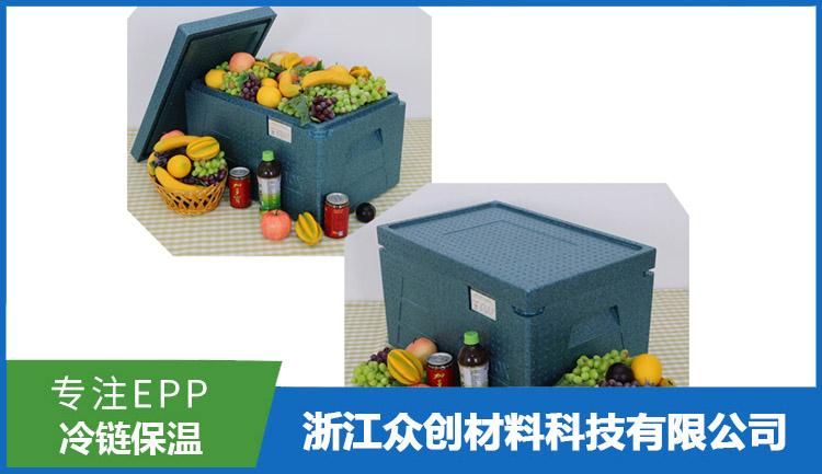 EPP生鲜冷链保温箱